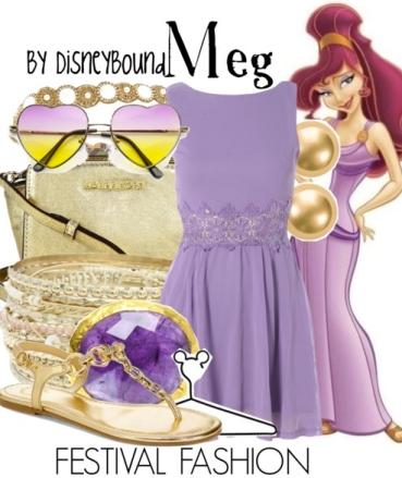Disneybounding-Megara