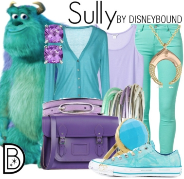DisneyBounding-Sully-Leslie-Kay