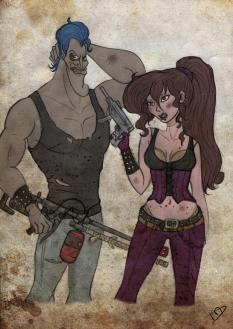 Megara and Hades