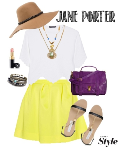JanePorterDisneyBound