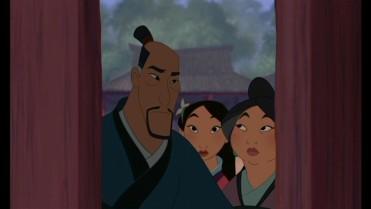 Fa Zu and Fa Li; Mulan's Parents