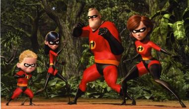 Helen and Robert Parr AKA Mr. & Mrs. Incredible; Violet, Dash, and Jack-Jack's Parents