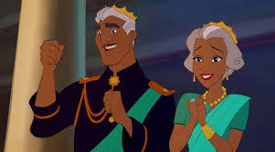 The King and Queen of Maldonia; Naveen's Parents