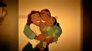 James and Eudora; Tiana's Parents