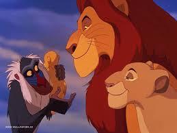 Mufasa and Sarabi; Simba's Parents