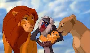Simba and Nala; Kiara's Parents