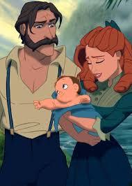 Lady Alice Greystroke, and Lord John Greystroke; Tarzan's PARENTS