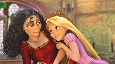 Mother Gothel; The Woman who raised Rapunzel